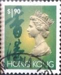 Stamps : Asia : Hong_Kong :  Intercambio 0,80 usd 1,9 dolares 1993