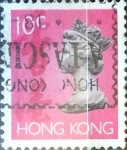 Sellos del Mundo : Asia : Hong_Kong : Intercambio 0,30 usd 10 cent. 1992