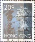 Sellos del Mundo : Asia : Hong_Kong : Intercambio 1,00 usd 20 cent. 1993