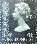 Sellos del Mundo : Asia : Hong_Kong : Intercambio 0,55 usd 1 dolar 1973