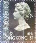 Sellos del Mundo : Asia : Hong_Kong : Intercambio 0,55 usd 1 dolar 1973