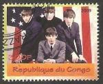 Sellos de Africa - República del Congo -  The Beatles