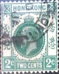Sellos del Mundo : Asia : Hong_Kong : Intercambio 0,40 usd 2 dolar 1912