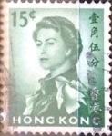 Sellos del Mundo : Asia : Hong_Kong : Intercambio 0,20 usd 15 cent. 1962