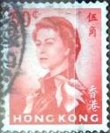 Sellos del Mundo : Asia : Hong_Kong : Intercambio 0,20 usd 50 cent. 1962