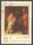 Sellos de Europa - Rusia -  3683 - El regreso del hijo pródigo, de Rembrandt