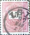 Sellos de Europa - Hungría -  Intercambio 0,40  usd 15 korona 1888