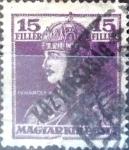 Sellos del Mundo : Europa : Hungría : Intercambio 0,20  usd 15 f. 1918
