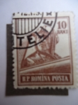 Stamps : Europe : Romania :  Aviador. R.P Romina Posta.
