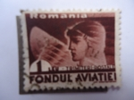 Stamps : Europe : Romania :  Romania - Trimiteri. Postale - Fondul Aviatiei