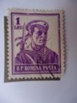 Sellos del Mundo : Europa : Rumania :  Marinero- Soldado de la Marina -R.P. Romina Posta.