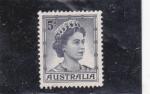 Stamps : Oceania : Australia :  reina Isabel II