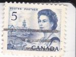 Sellos del Mundo : America : Canadá : reina Isabel II