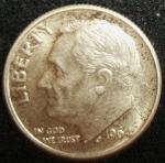 monedas de America - Estados Unidos -  1964 (Anverso)
