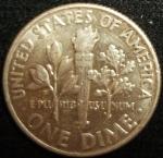 monedas de America - Estados Unidos -  1964 (Reverso)