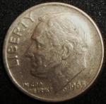 monedas de America - Estados Unidos -  1965 (Anverso)