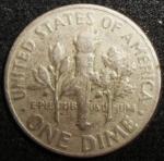 monedas de America - Estados Unidos -  1965 (Reverso)