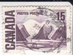 Sellos de America - Canadá -  paisaje canadiense
