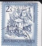 Stamps Austria -  panorámica de Innsbruck-Tirol