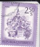 Stamps Austria -  panorámica de Murau