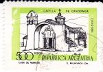 Sellos de America - Argentina -  capilla de Candonga