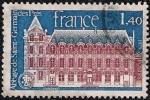 Sellos de Europa - Francia -  Abayye de Saint-Germain de Pres