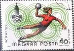 Sellos de Europa - Hungría -  Intercambio 0,20  usd 40 f. 1980