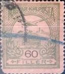 Sellos del Mundo : Europa : Hungría : 60 f. 1913