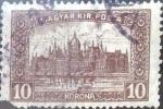Sellos de Europa - Hungría -  Intercambio 0,20 usd 10 korona 1922