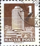 Stamps : Europe : Hungary :  Intercambio 0,20 usd 1 ft. 1969