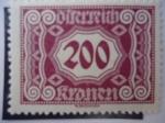 Stamps Austria -  Osterreich - Austria.