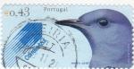 Stamps Portugal -   ave-meiro azul