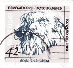 Stamps Portugal -  Joao Dalisboa-navegante portugués