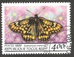 Stamps Togo -  Mariposa