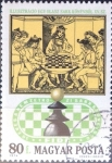 Stamps : Europe : Hungary :  Intercambio 0,20 usd 80 f. 1974