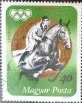 Stamps Hungary -  Intercambio 0,20 usd 40 f. 1973
