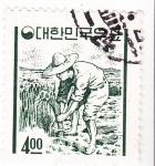 Stamps South Korea -  recolección