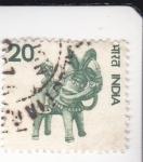 Stamps : Asia : India :  artesanía