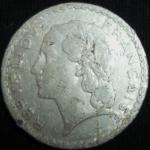 monedas de Europa - Francia -  1949 (Anverso)
