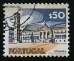 Sellos de Europa - Portugal -  Universidad de Coimbra