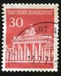 Sellos del Mundo : Europa : Alemania : Puerta de Brandeburgo