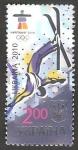 Stamps Ukraine -  Olimpiadas de invierno 2010 en Vancouver