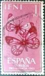 Sellos de Europa - España -  Intercambio fd3a 0,25 usd 1 peseta 1963