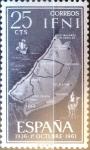 Sellos de Europa - España -  Intercambio jxi 0,20 usd 25 cent. 1961