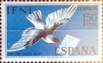 Sellos de Europa - España -  Intercambio crxf 0,25 usd 1,5 pesetas 1968