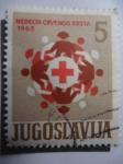 Sellos de Europa - Yugoslavia -  Nedelja Crvenog Krsta - Red Cross.
