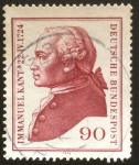 Stamps : Europe : Germany :  Kant