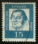 Stamps : Europe : Germany :  Lutero