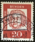 Stamps : Europe : Germany :  Bach