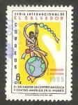 Stamps : America : El_Salvador :  711 - Feria Internacional de El Salvador